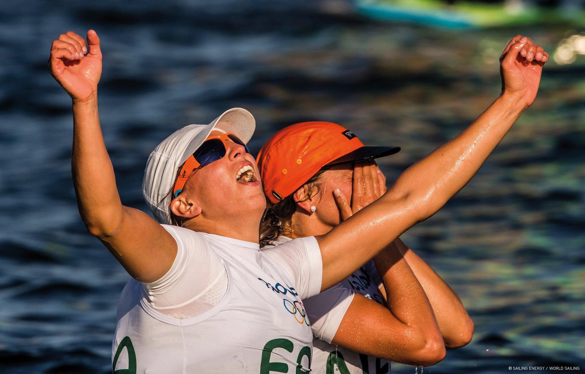 À Rio, Charline Picon n'avait d'yeux que pour l'or !