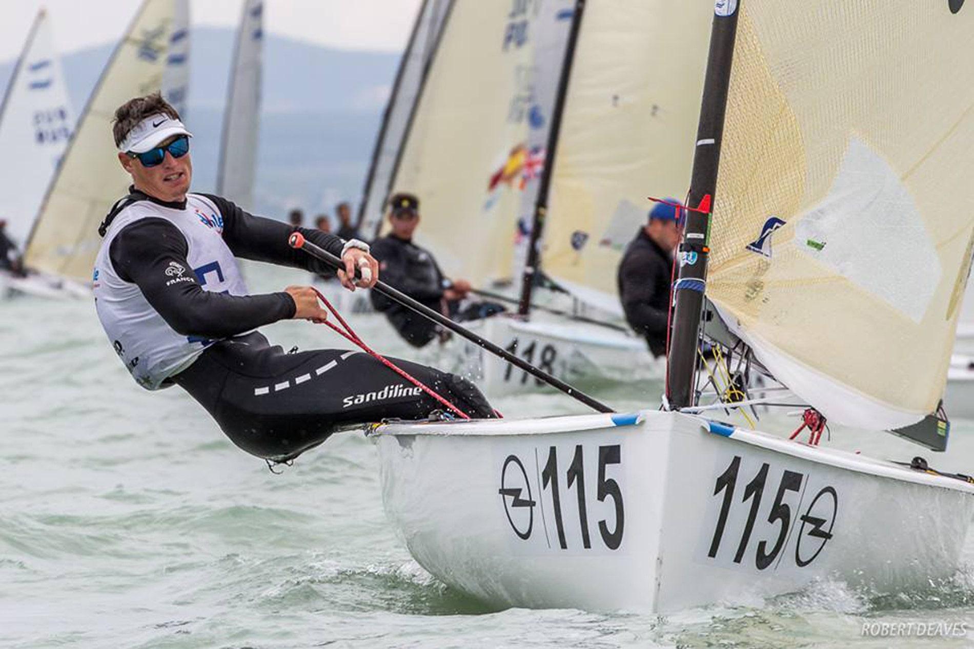 Jonathan Lobert vice-champion du monde de Finn