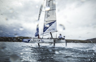 Foiling Cape Horn - Sail Session - Ushuaïa 2015