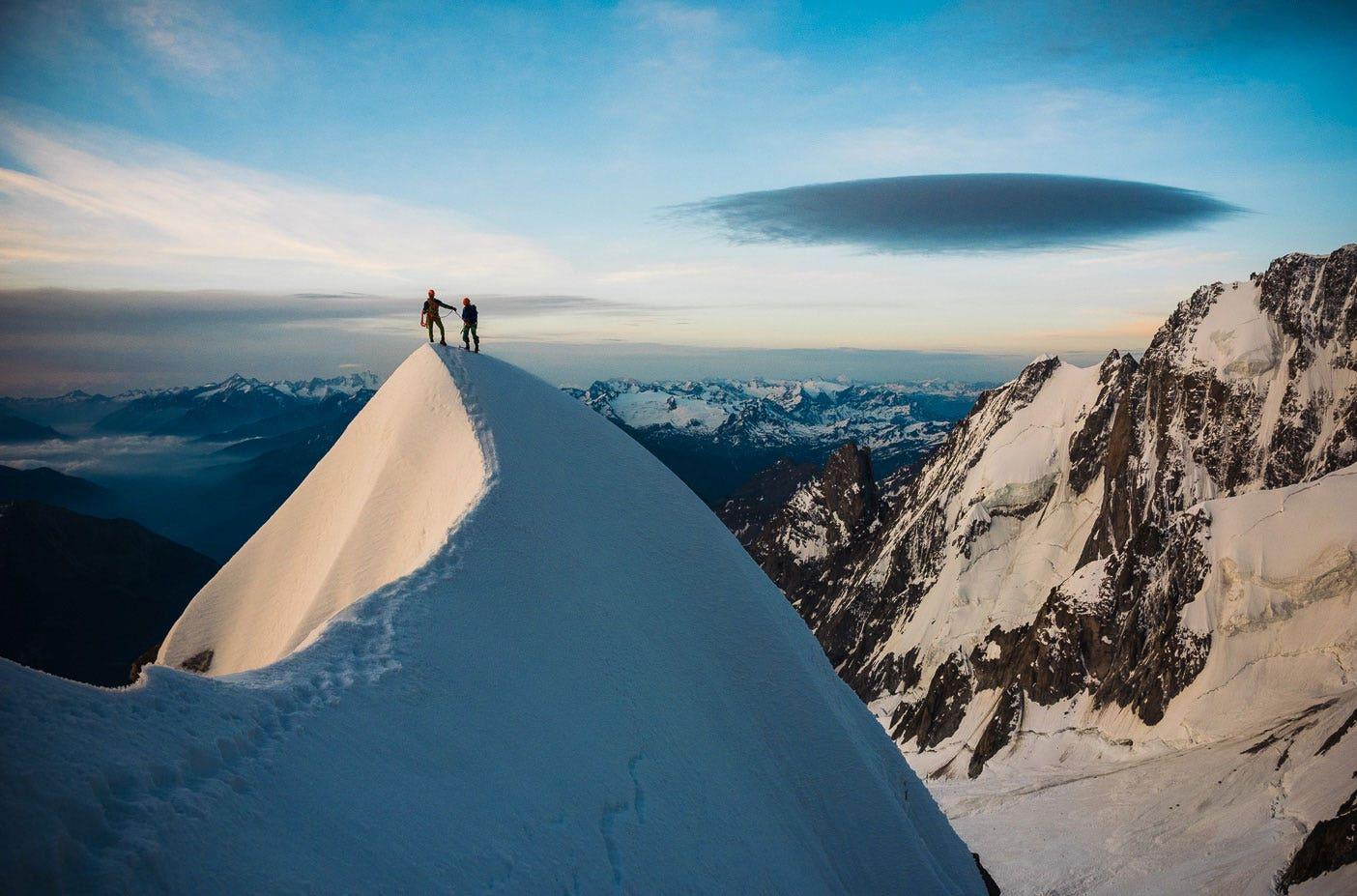 Lunettes de soleil pour la haute montagne hommes