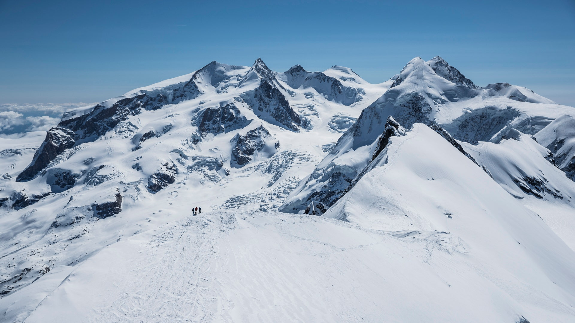 The mind-blowing panoramas of the Alps