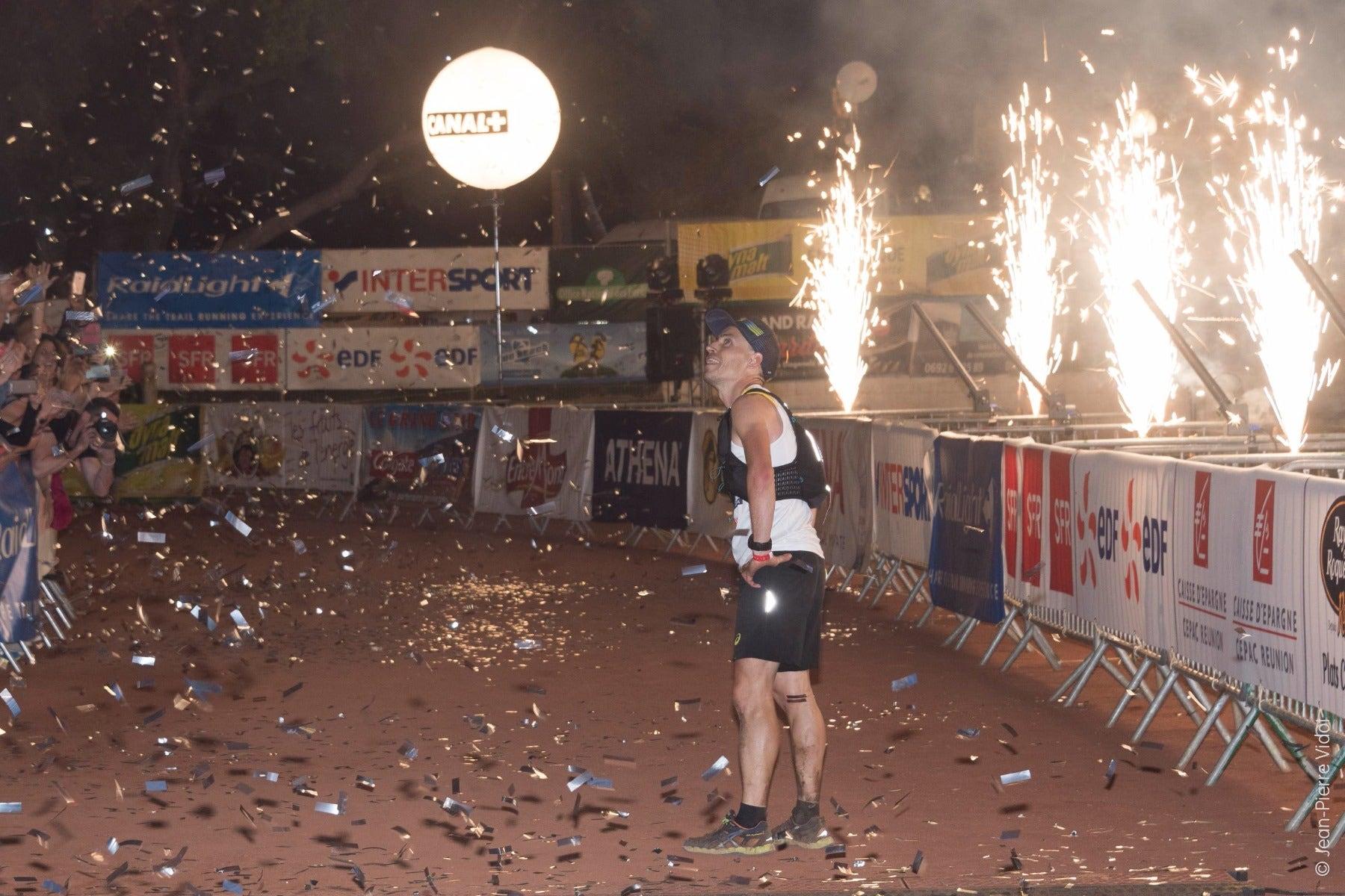 Benoit Girondel - vainqueur du Grand Raid